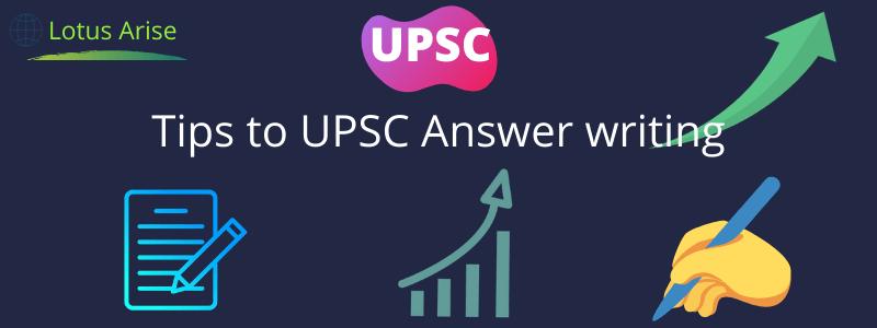 UPSC Answer Writing Practice