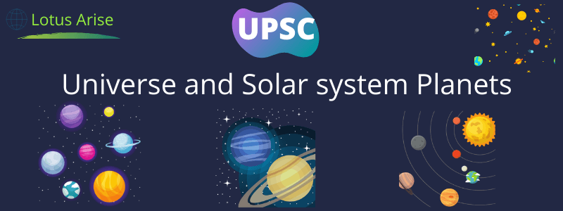 Universe and Solar system Planets information
