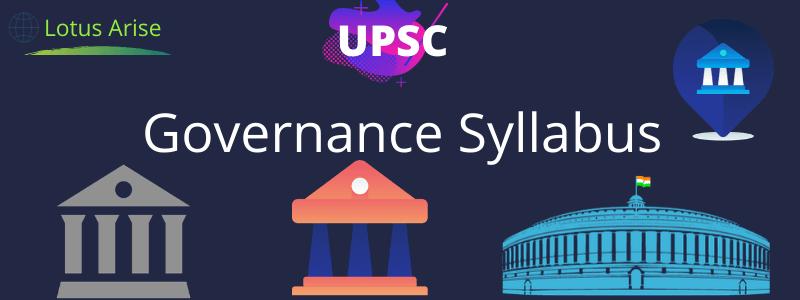 Governance Syllabus UPSC