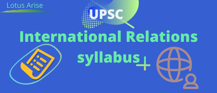 International Relations syllabus