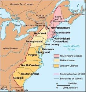 American Revolution 13colonies
