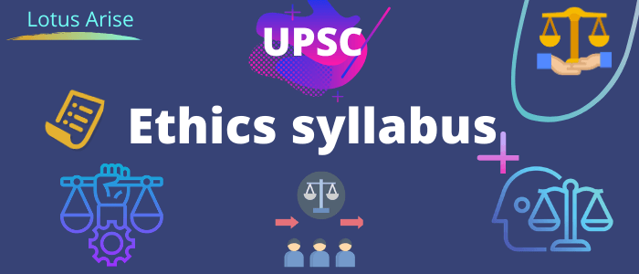 Ethics syllabus upsc