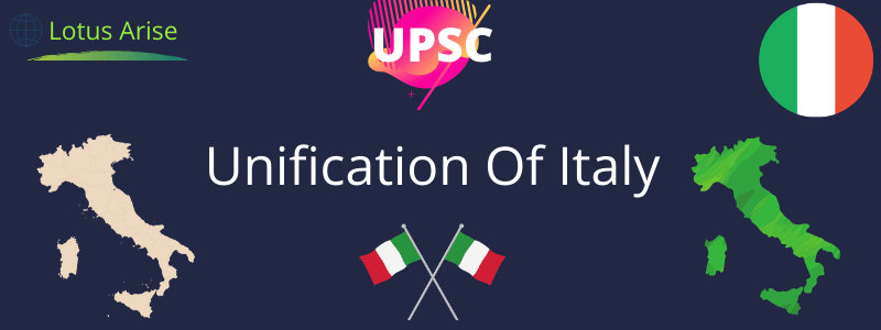 Unification Of Italy UPSC