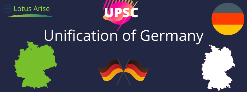 Unification of Germany UPSC