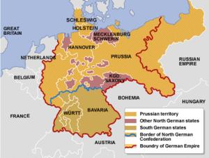 German empire 1867 - 1871