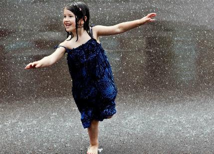 Drizzle rain