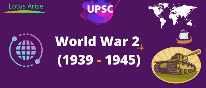 World War 2 UPSC