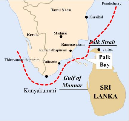 Palk Strait