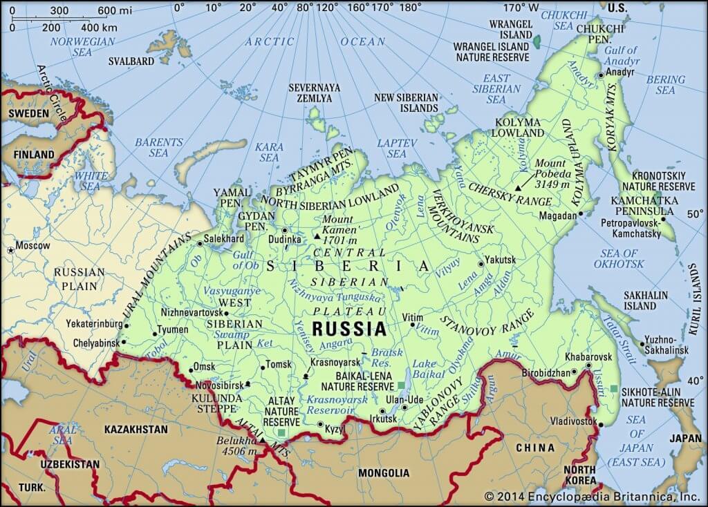 Great Siberian plain