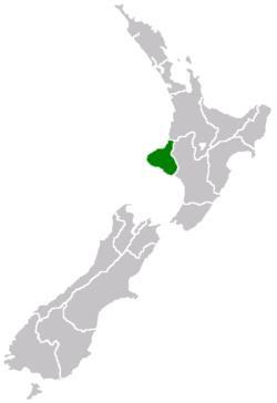 Taranaki Plain of New Zealand