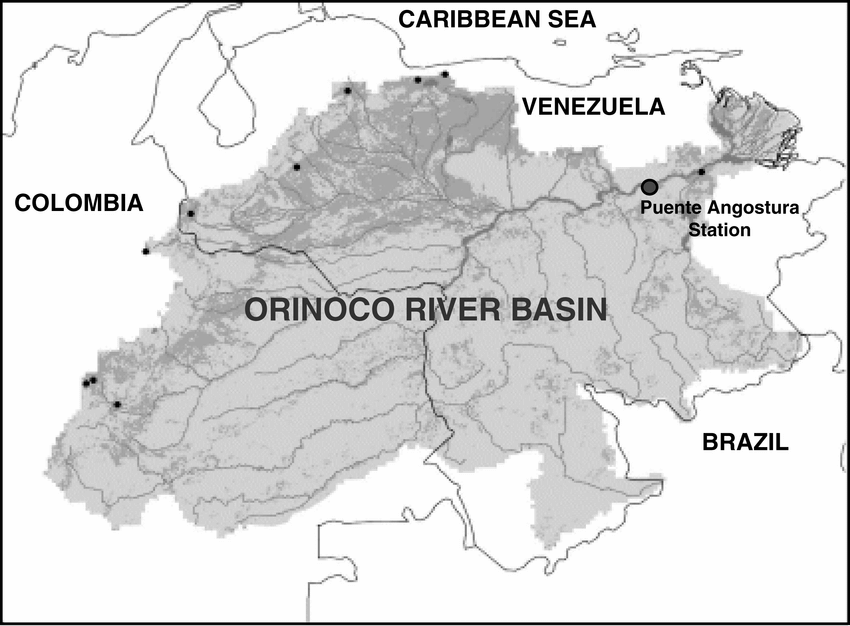 The Orinoco basin