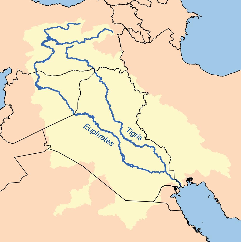Tigris-Euphrates plains