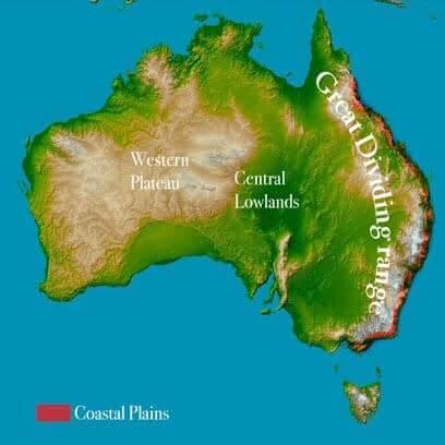 central lowlands Australia