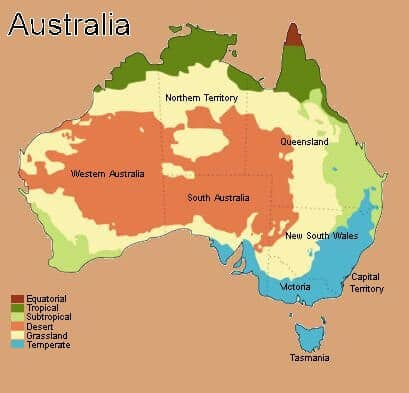 river australia map