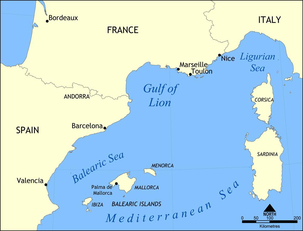 gulf of lion