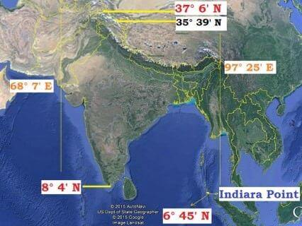 India-latitudinal-longitudinal-extent