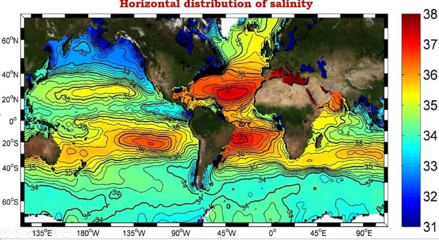 distribution-of-ocean-salinity