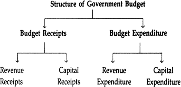 structure of government budget