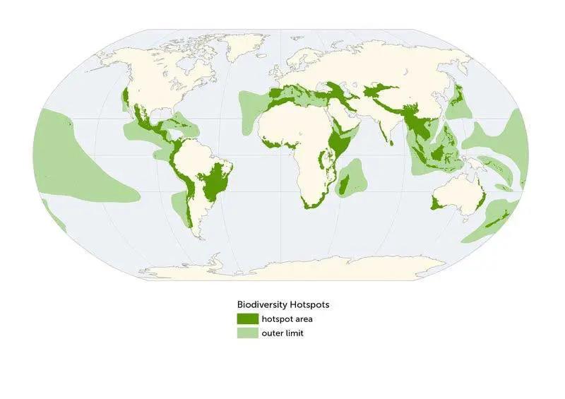 GLOBAL BIODIVERSITY HOTSPOTS