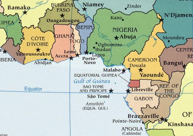 Gulf of Guinea upsc
