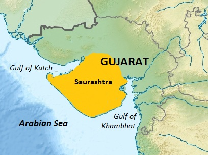 Kutch and Kathiawar region
