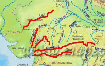 West flowing Rivers in India