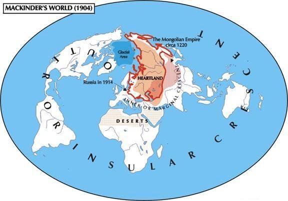 Heartland and Rimland theory