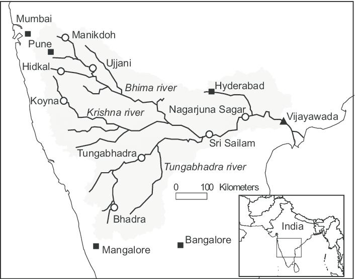 krishna river upsc