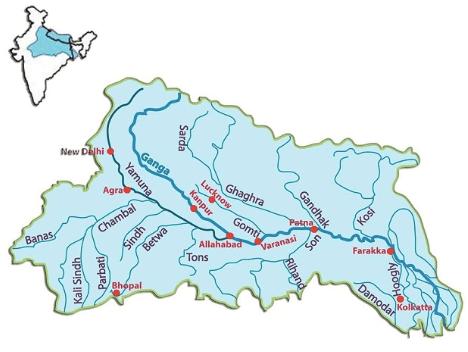 Gomti river upsc