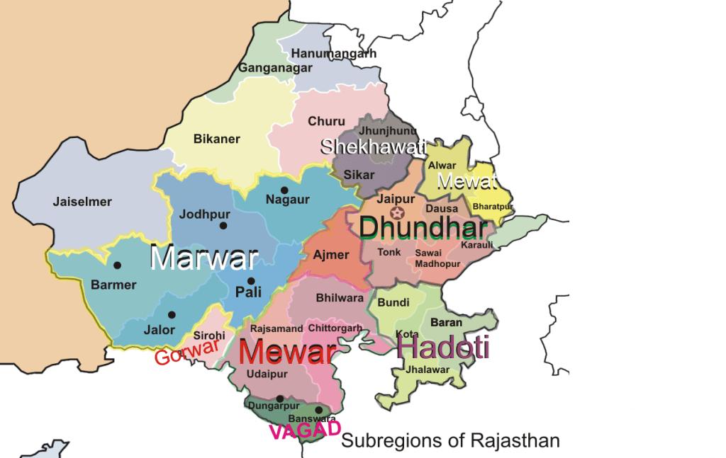 Mewar Plateau