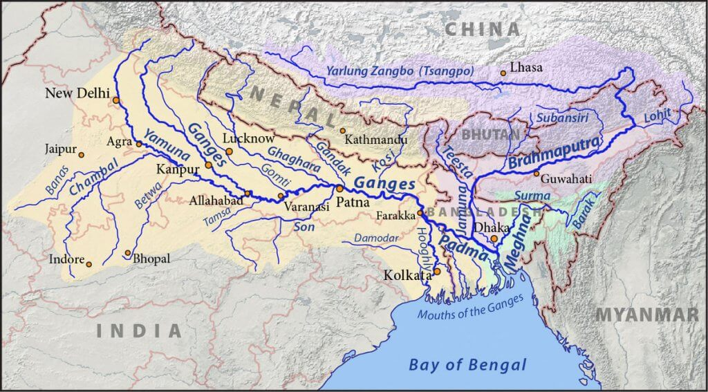 Transverse Profile - Indo Gangetic Plains