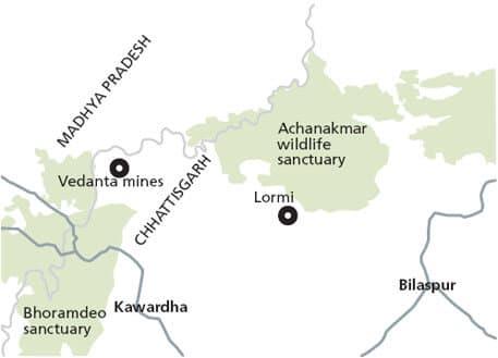 achanakamar wildlife sanctuary