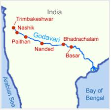 godavari river cities