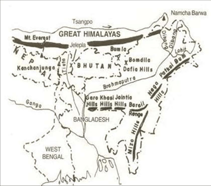 Meghalaya Plateau