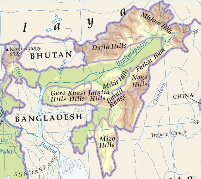 purvanchal hills