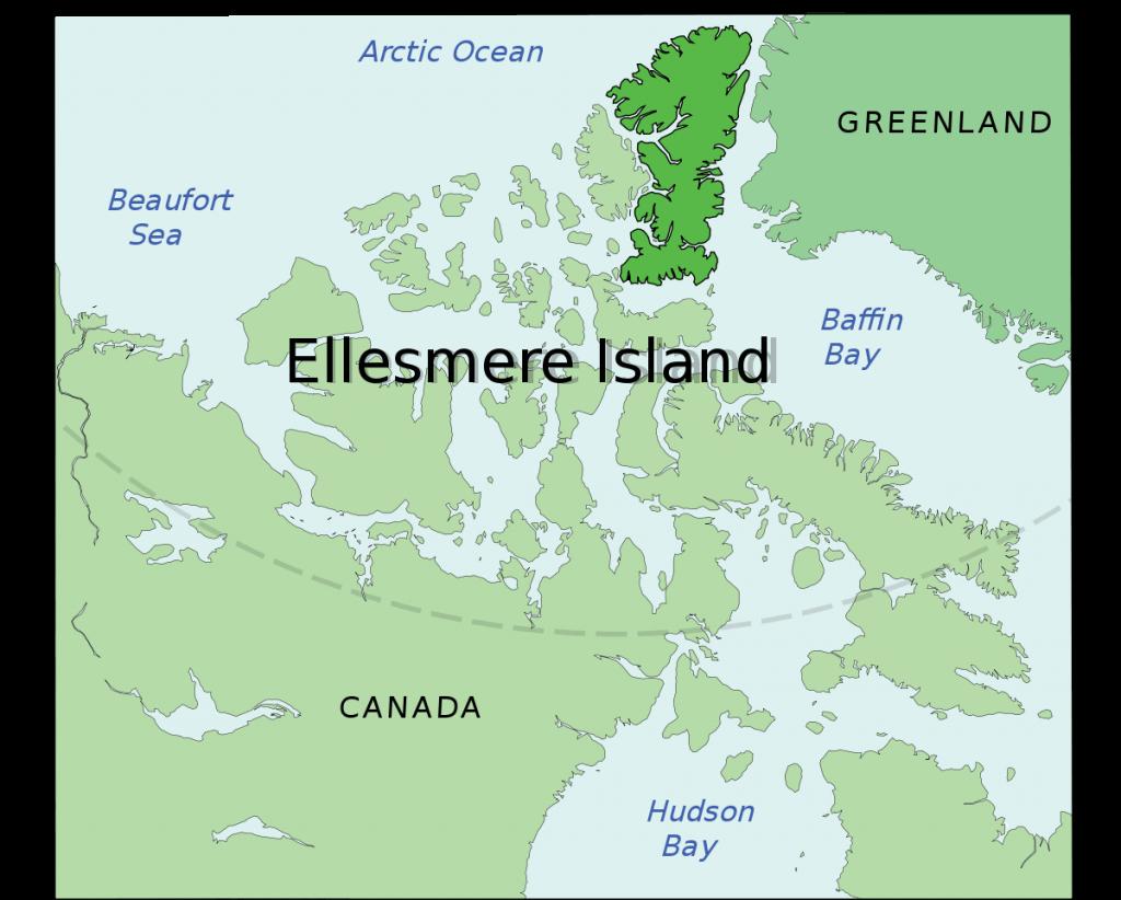 Ellesmere Island upsc