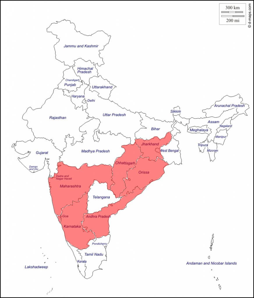 Iron ore mines states in India