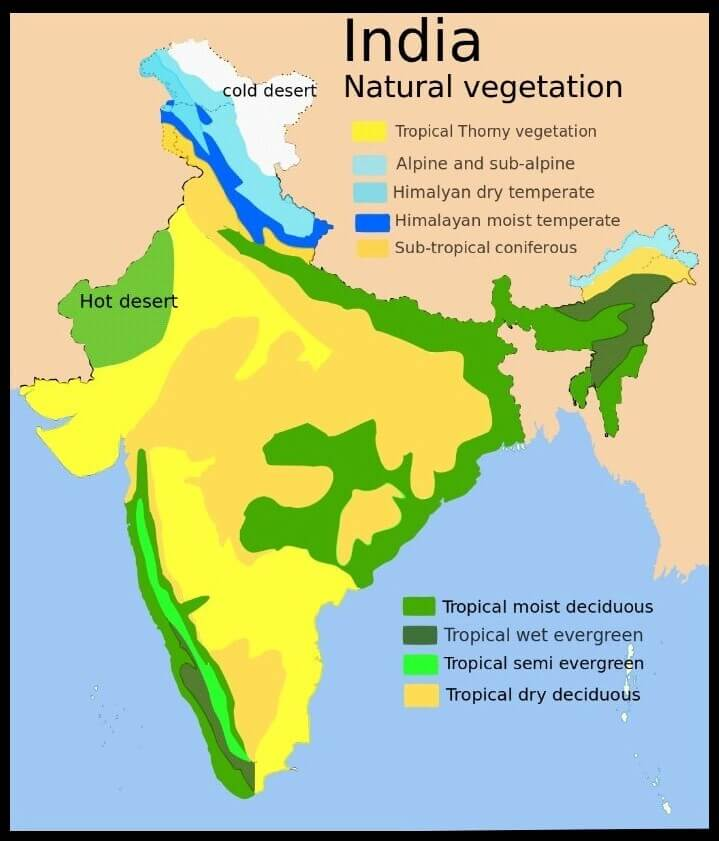 forest resources in india upsc