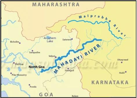 mandovi river upsc