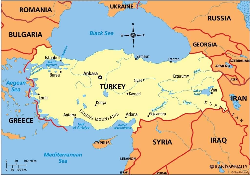 Anatolian Peninsula UPSC