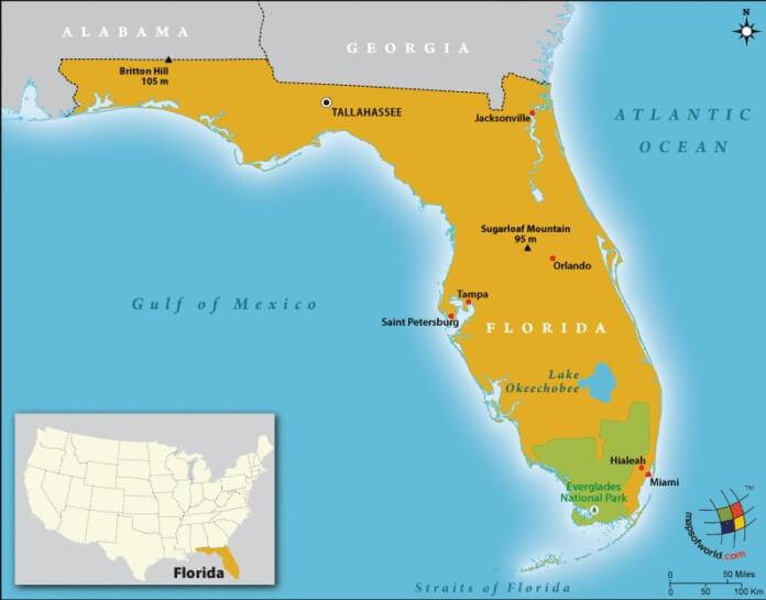 Floridan Peninsula UPSC