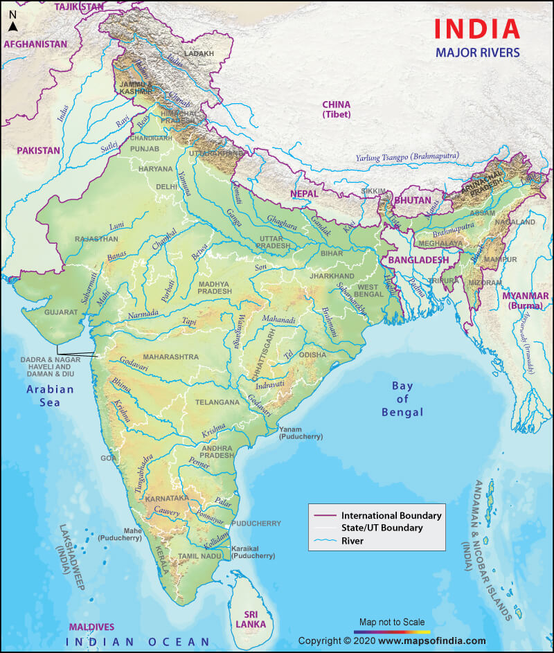Indian river for UPSC IAS