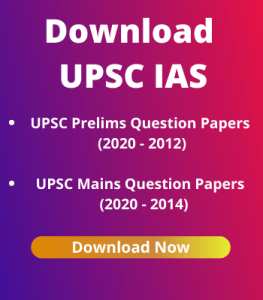 UPSC Question Papers since (2020 - 2014)
