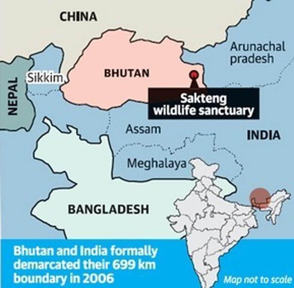 india bhutan boundary