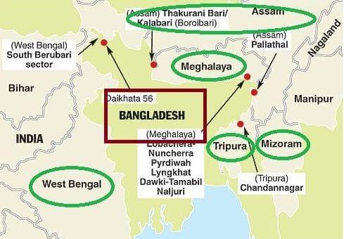 Indo Bangladesh border