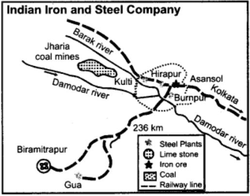 IISCO Kulti, Hirapur and Burnpur