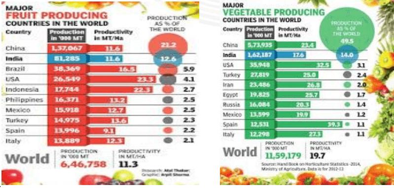 major food producing countries
