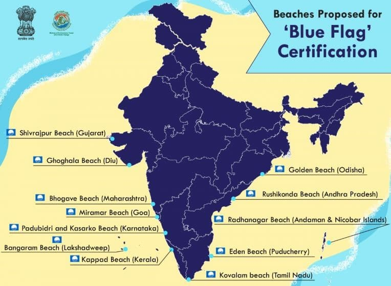 blue flag beaches in india upsc