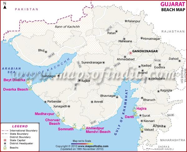 gujarat-beaches-map
