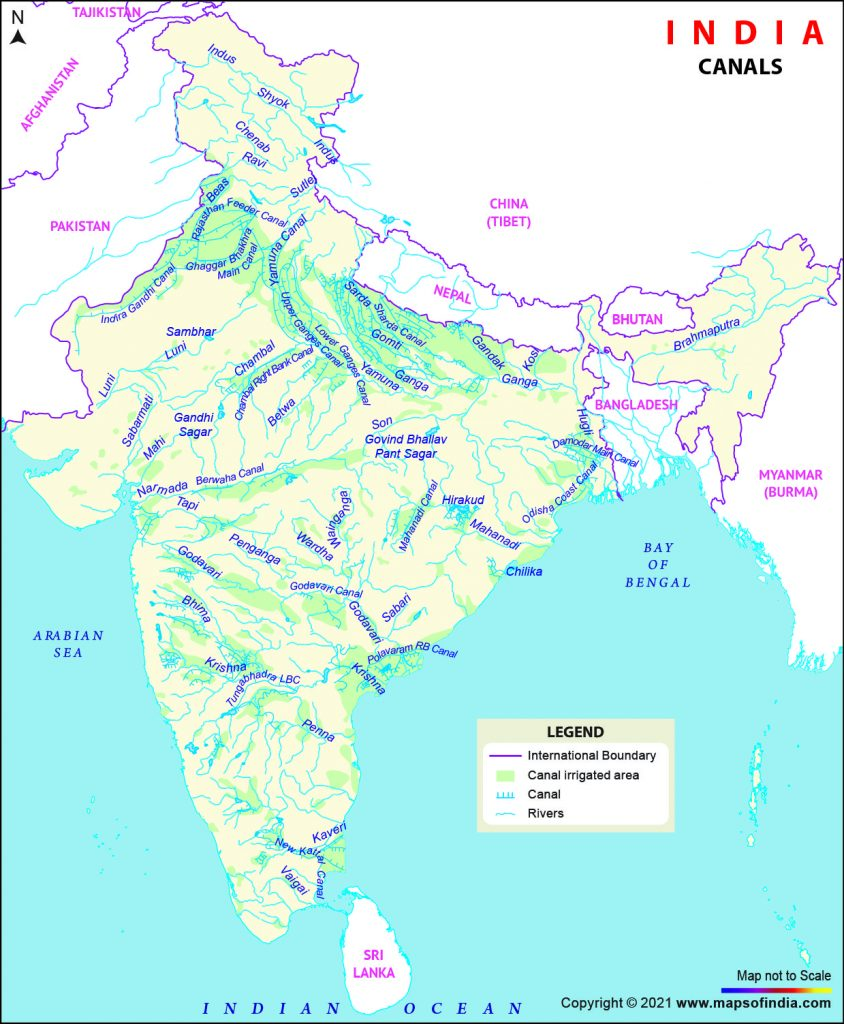 Important Canals in India UPSC